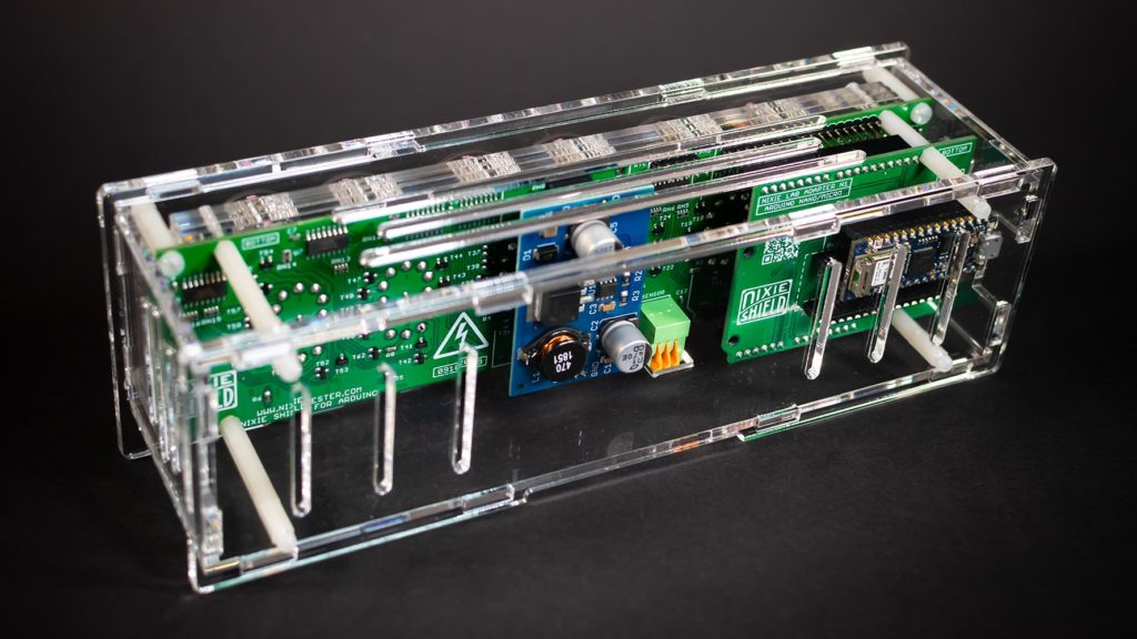 this shield combines the retro charm of nixie tubes with modern arduino cloud connectivity 2 hyperedge embed image