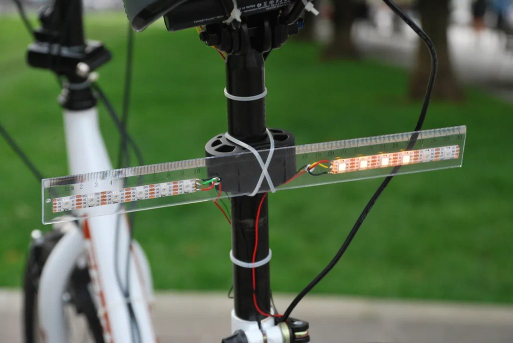 voiceturn is a voice controlled turn signal system for safer bike rides hyperedge embed image