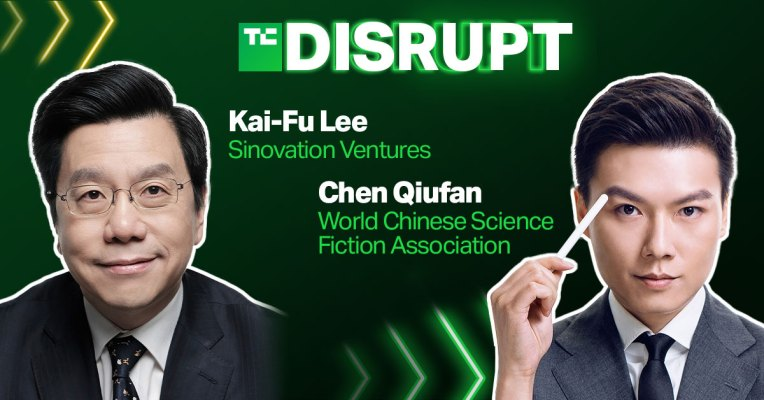 kai fu lee and chen qiufan will share their vision of our ai powered future at disrupt hyperedge embed