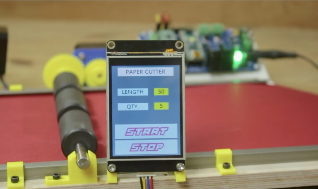 this arduino based machine is an easy and efficient way to cut strips of paper 1 hyperedge embed