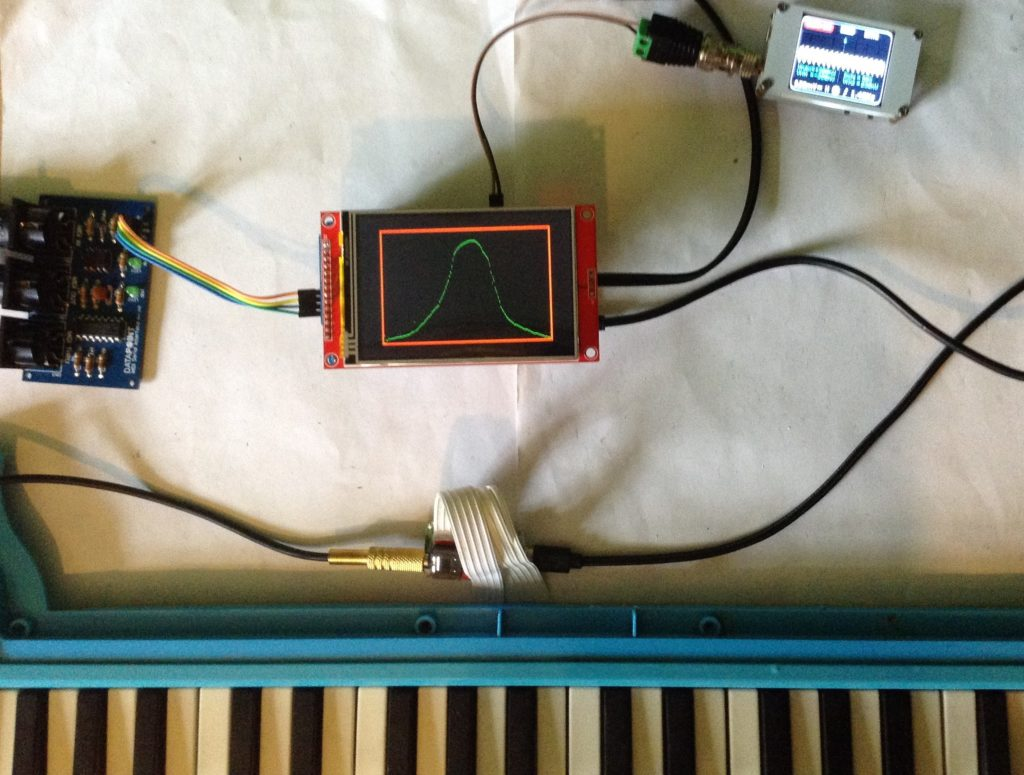 use an arduino touchscreen to draw the waveforms that youd like your synth to produce hyperedge embed