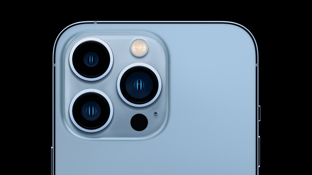 doctor uses iphone 13 pros macro camera to check patients eyes hyperedge embed