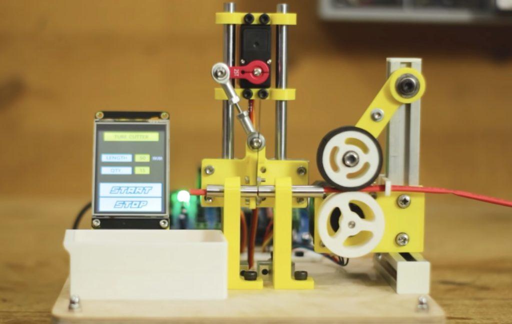 handy machine cuts heat shrink tubing to length hyperedge embed