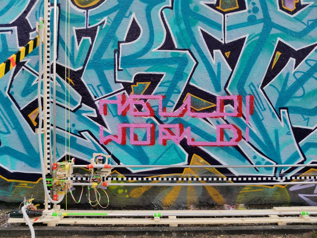 the graffomat is a giant plotter that automates graffiti art 1 hyperedge embed