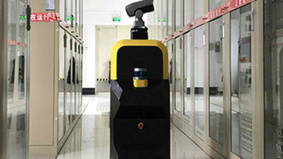 Kilox-Tech mobile robots inspect power systems