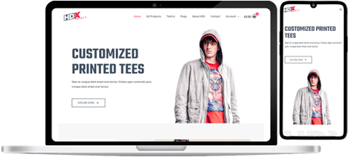 physical store Website