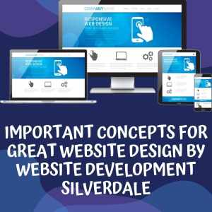 IMPORTANT CONCEPTS FOR GREAT WEBSITE DESIGN BY WEBSITE DEVELOPMENT SILVERDALE