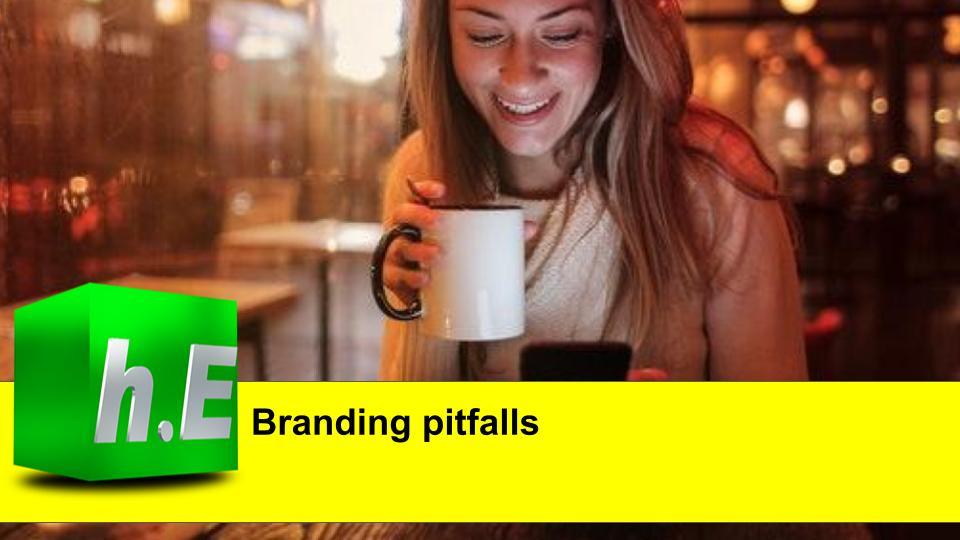 Branding pitfalls