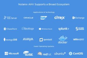 nutanix ahv supported ecosystem