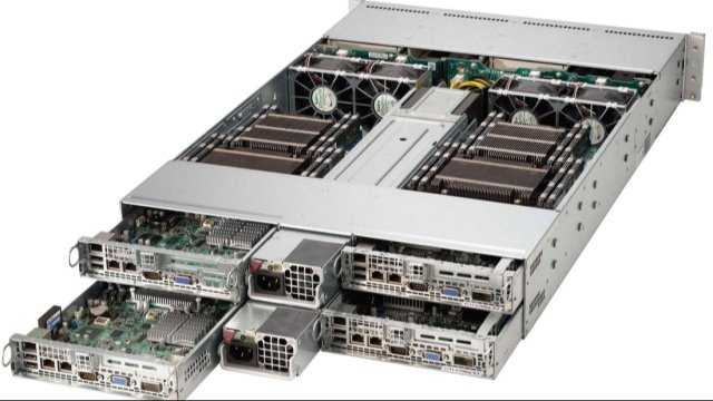 Nutanix Nodes Rear Side