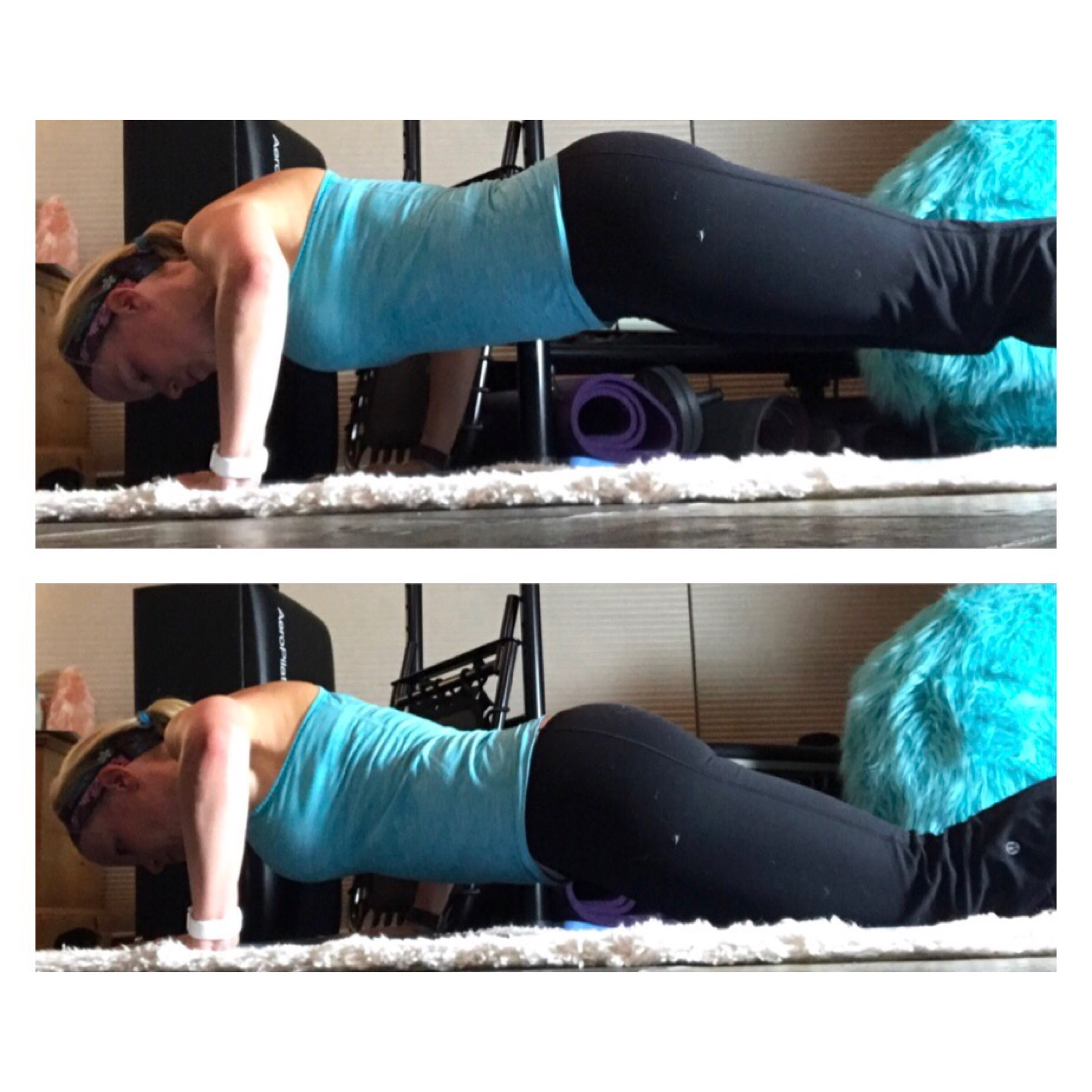 #Just5Minutes – 30mins cycling/spinning at home & 30 push-ups