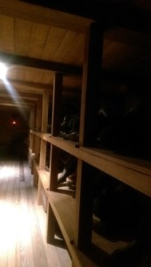 the charles wright features many immersive installations, including walking through the hold of a slave ship.