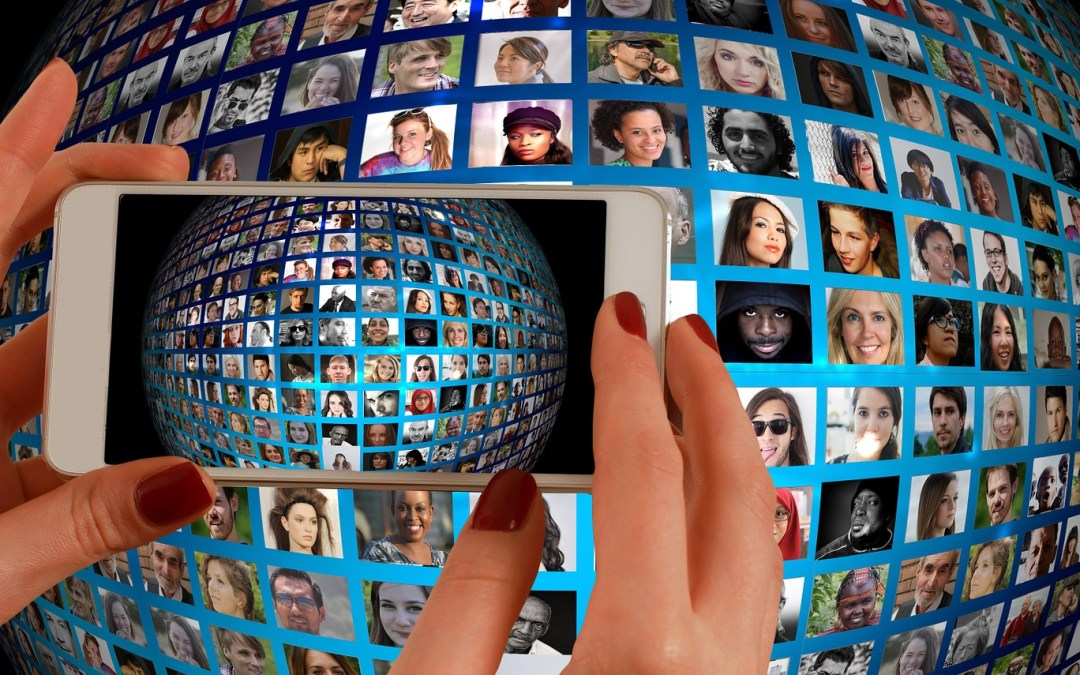 Shaking Hands Across Social Media…