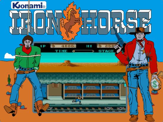 Iron Horse MAME Games P13