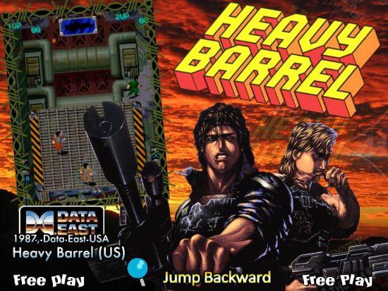 Heavy Barrel MAME Games P12