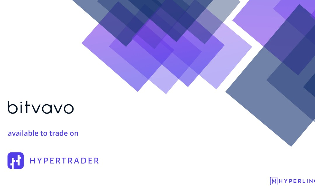Announcement: Now Trade on Bitvavo with HyperTrader