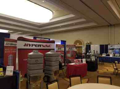 Hypervac duct truck las vegas NADCA convention