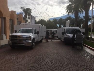 las vegas NADCA convention outside near palm trees