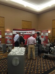hypervac employees convention set up