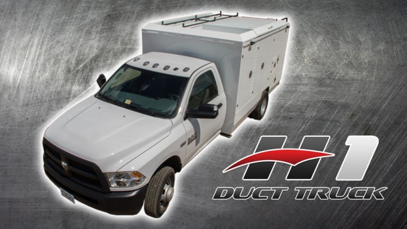 Air Duct Cleaning Equipment - Duct Truck