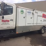 Amsteam duct truck driver