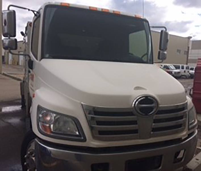 Amsteam duct truck driver  front grill