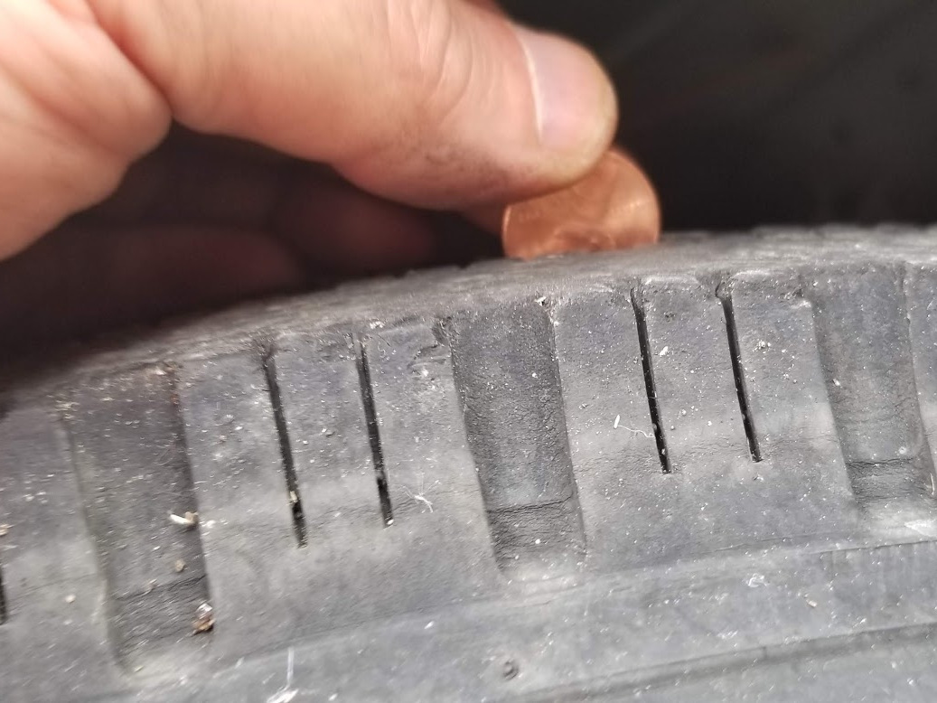 duct truck wheel tread