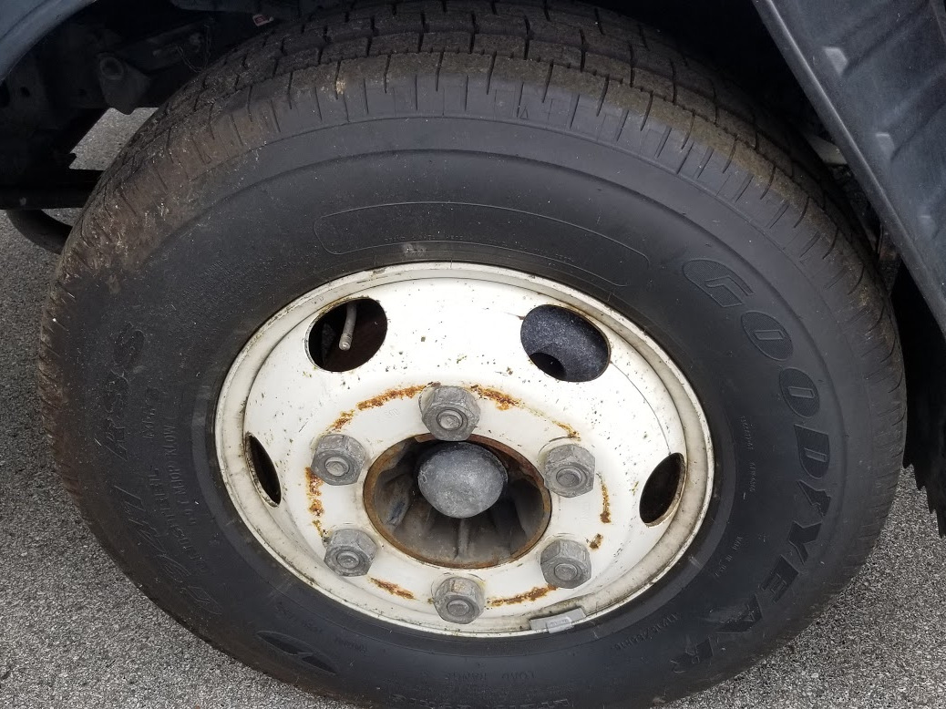 duct truck wheel