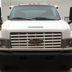 h1 duct truck front grill view