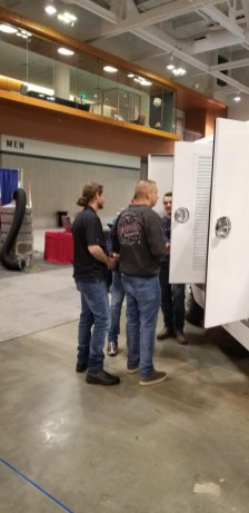 hypervac employees at NADCA covention