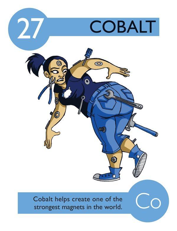 Cobalto ajuda a criar os ímãs mais fortes do mundo
