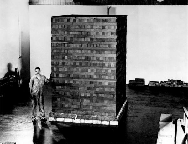 Uma das (pelo menos) vinte e nove estruturas de urânio e grafite