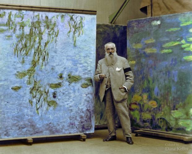 Claude Monet em 1923
