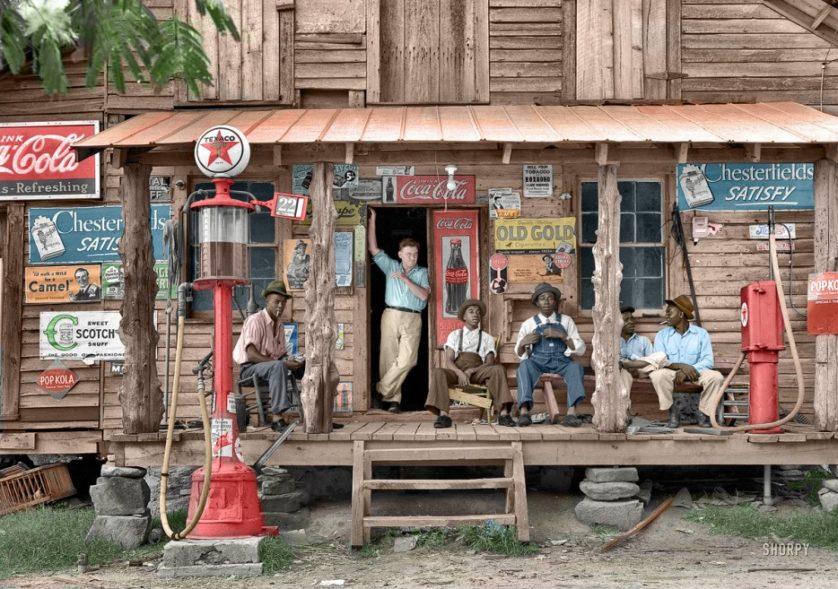 Loja do interior da Carolina do Norte em julho de 1939