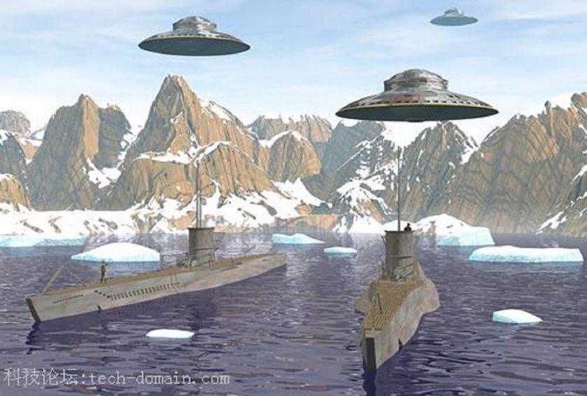 dice complotto UFO nazisti e 5