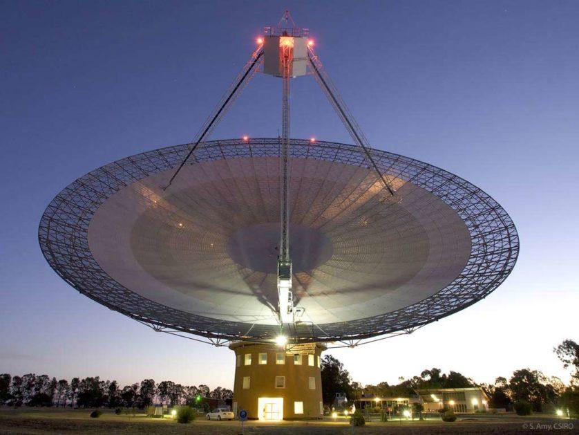 telescopio Parkes alieni