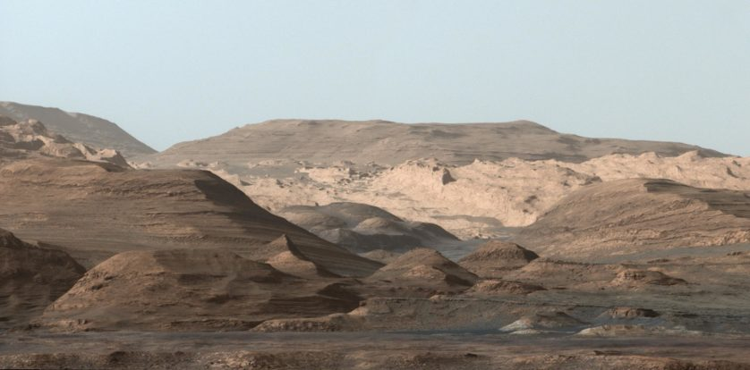 foto marte mount sharp