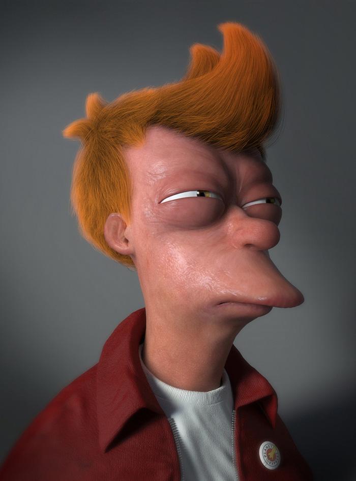 personagens ficcao realisticos 3d 10