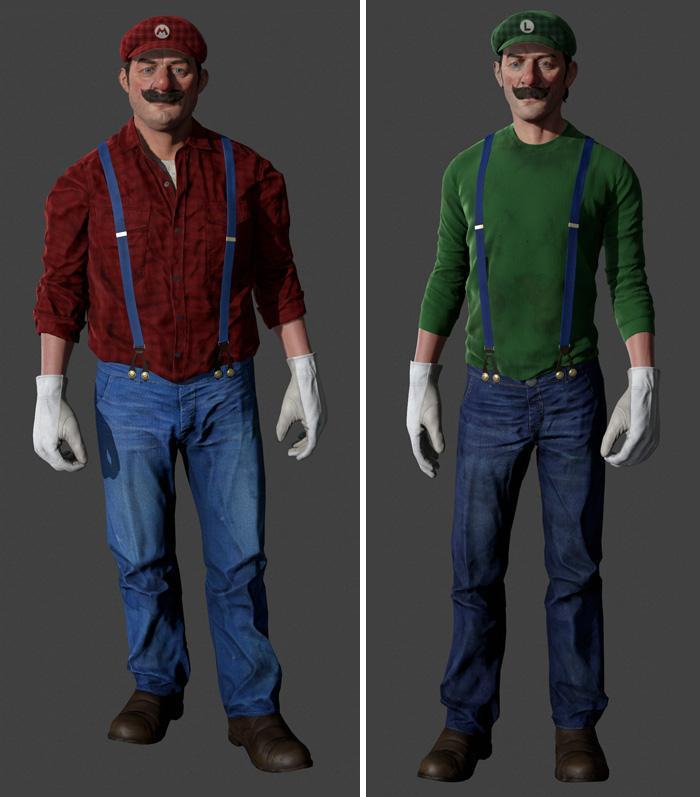personagens ficcao realisticos 3d 8
