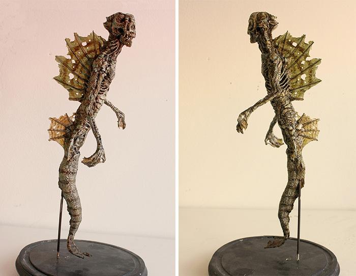esqueletos criaturas fantasticas esculturas alex cf (12)