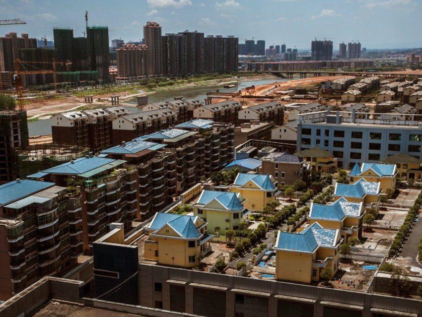 china-casas-em-cima-de-shopping