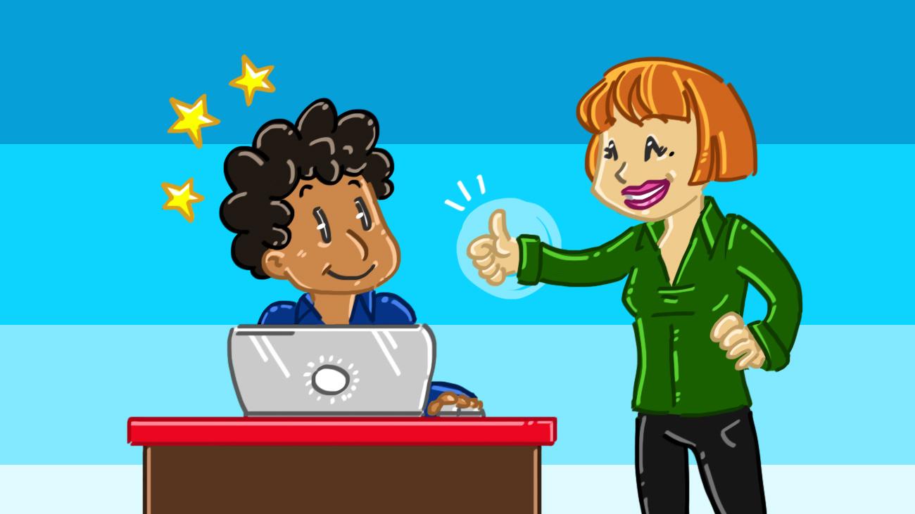 Professores que elogiam veem um aumento de 30% no bom comportamento dos alunos