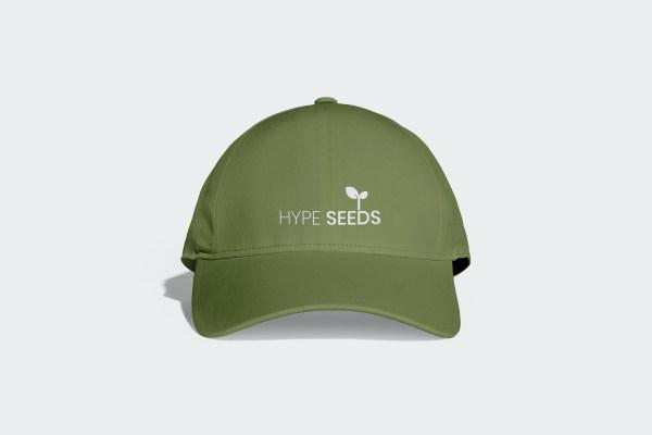 Olive green sports cap