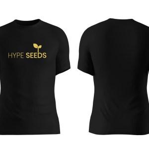 black & gold classic t-shirt