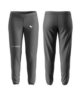 Gray & white sweatpants