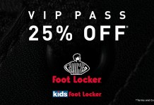 foot locker vip pass