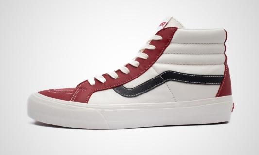 SK8-Hi Reissue VLT LX (weiß / rot) Sneaker