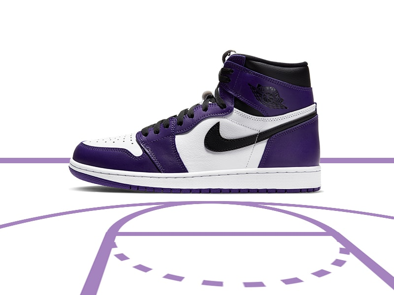 Air Jordan 1 Raffle Court Purple Raffle