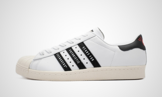 x Human Made Superstar 80S (weiß / schwarz)