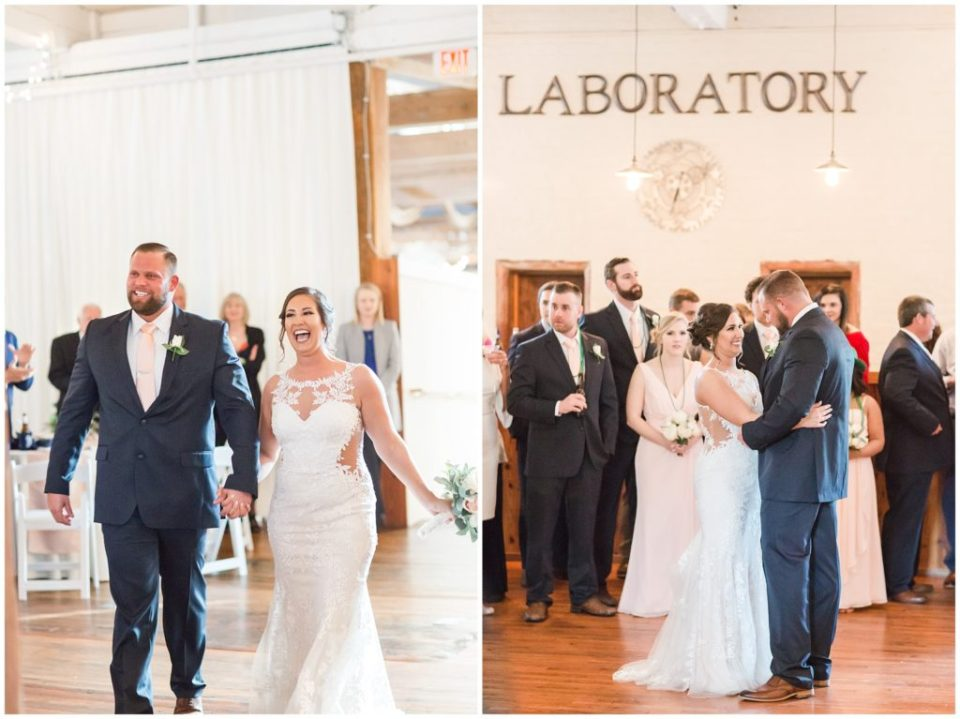 st. patricks day wedding bliss at the laboratory mill